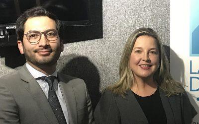 Felipe Abello de Abello Abogados con Mónica Ramírez de la Delegatura para la Propiedad Industrial